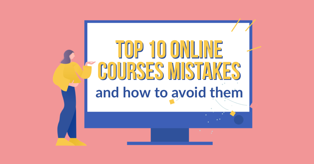 Top online course mistakes