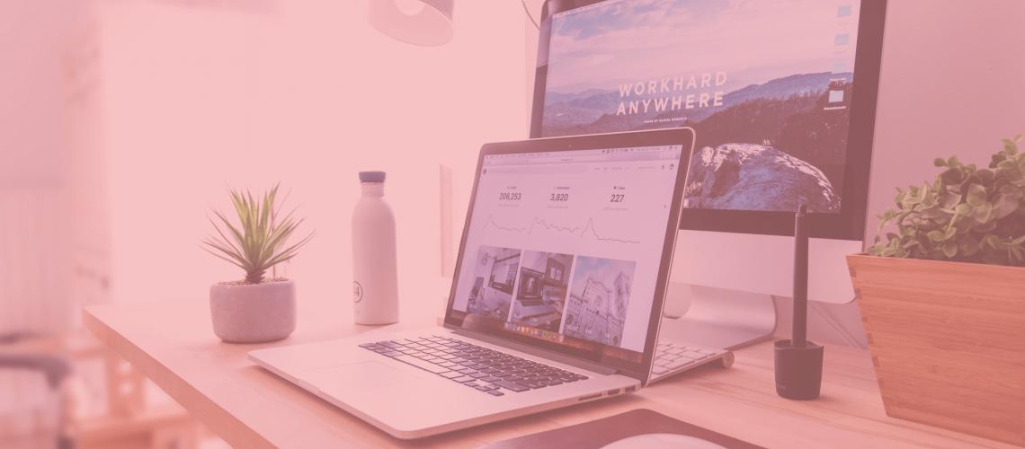 online courses on desktop